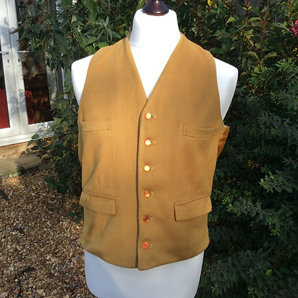 """Vintage Doeskin Hunting Waistcoat 42"""""""