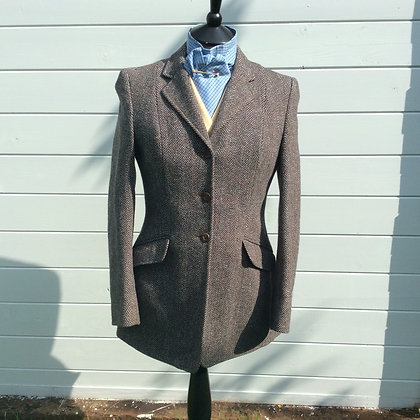 Blue/Grey Harry Hall Tweed 34""