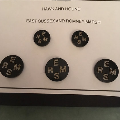 East Sussex and Romney Marsh Hunt Buttons