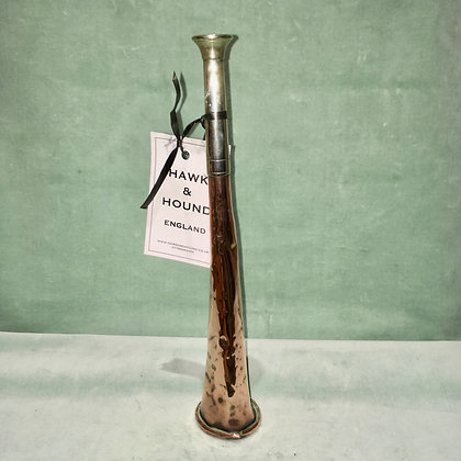 Brass & Nickel Hunting horn