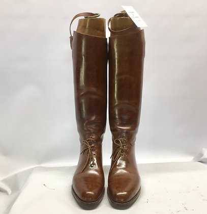 Huntley & Sons, brown field boots 8 - 8.5