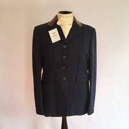 Phillips & Piper 4 button Lightweight Navy Coat 36""