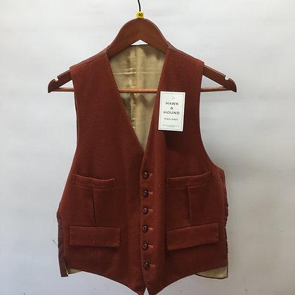 """Men's Fox Red (brown) waistcoat 40"""""""