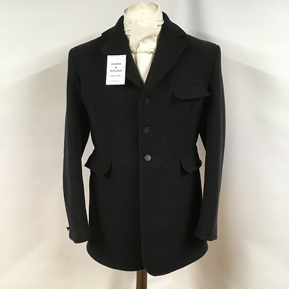 "Gents Black Caldene Hunt Coat 40"""