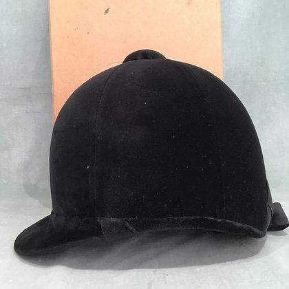 6 3/4  55cm  Honri Black hunt cap