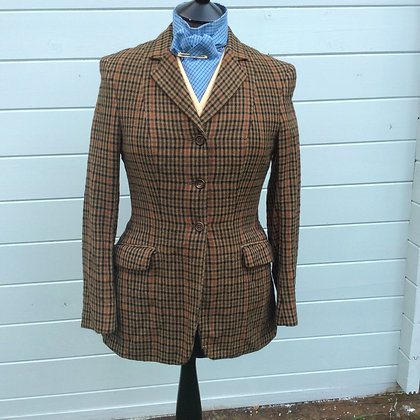 "Swaine Adeney Tweed Coat 34"""
