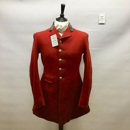 "36"" Bernard Weatherill 5 button hunt coat"