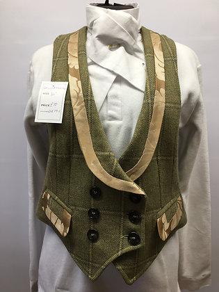 "36"" Ladies tweed ""Liberty Freedom"" waistcoat"