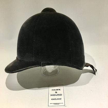 7 1/8 - 58cm Navy Patey Hunt Cap