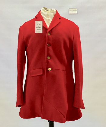 Frank Hall 4 button red hunt coat 40-42