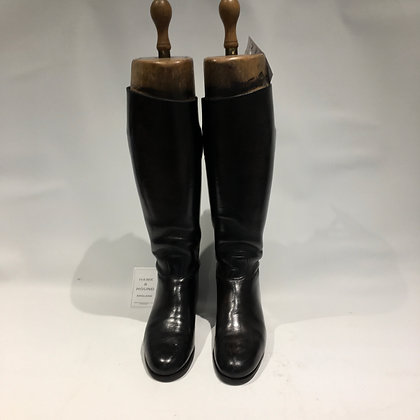 6 HAWKINS BOOTS WITH PEAL & CO TREES