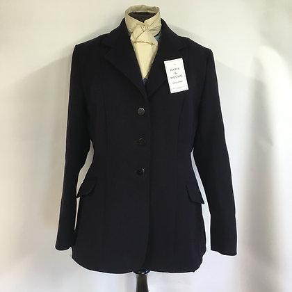 "Ladies Navy Caldene hunt coat 40"""