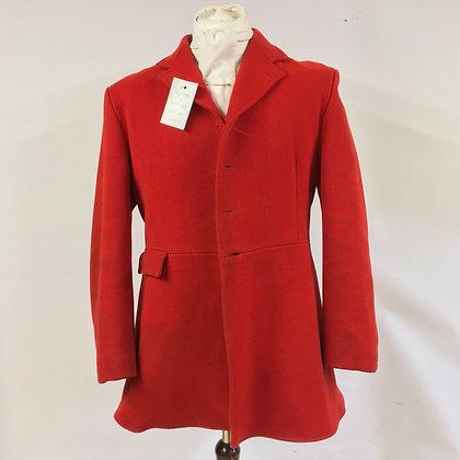 "Caldene 4 button red hunt coat 40"""