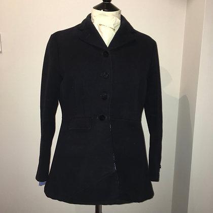 "Frank Hall Navy Ladies Hunt Coat 38/40"""