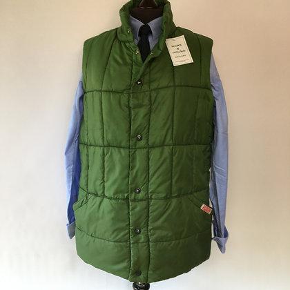 Large green Puffa waistcoat/ gilet
