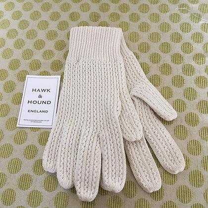 Knitted Ecru glove