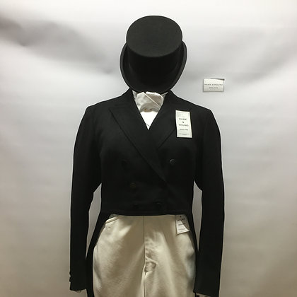 "38"" UNWORN ladies' Frank Hall dressage tails"