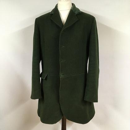 """Green 4 button Calcutt & Son Coat 44/46"""""""