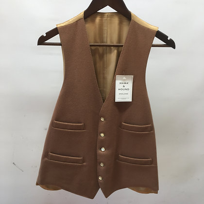 "Men's Fawn waistcoat 38"""