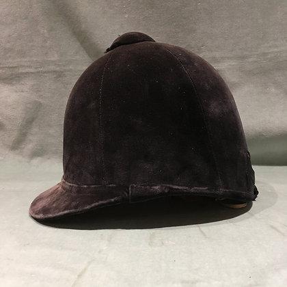 6 3/4  (55cm) Black Patey Hunt Cap