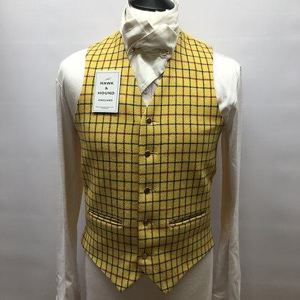 "38"" Men's Tattersall Alexander James waistcoat"