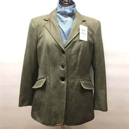 "36"" Gorringe lightweight Keeper's Tweed coat"