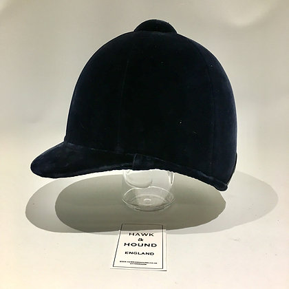 6 7/8 - 56cm Navy Patey Hunt Cap