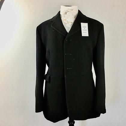 42R, Gent's Black Calcutt's frock hunt coat
