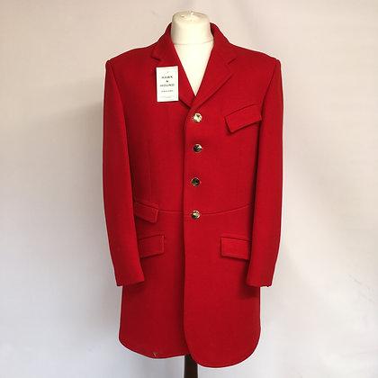 """Gentleman's 4 Button Red coat 40"""""""