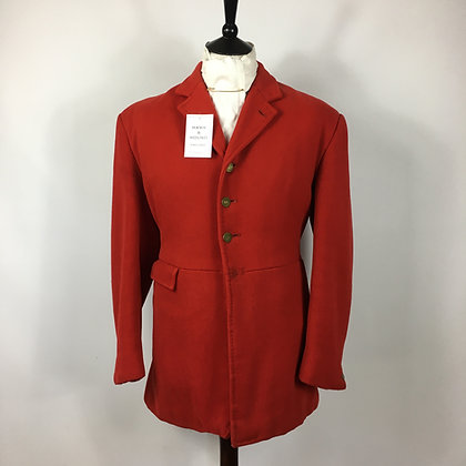 """40"""" 3 or 4 button red coat"""