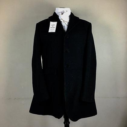 "42"" H. Huntsman & Sons Black Frock Coat"