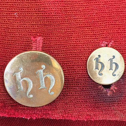 Hampshire Hunt STAFF buttons (not subscribers)