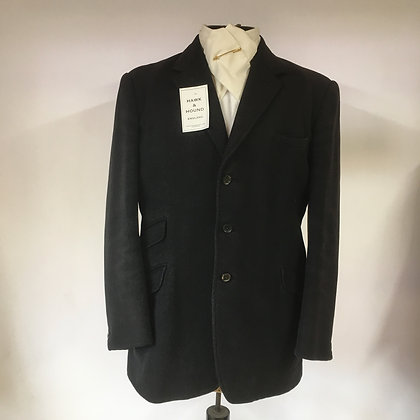 "38"" Gent's black hunt coat"