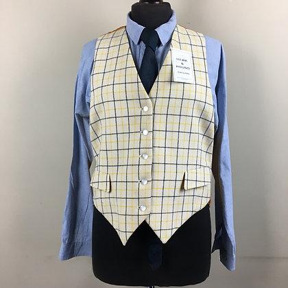 """42"""" Ladies Caldene Tattersall waistcoat"""