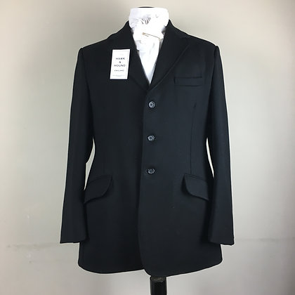 "40"" gentleman's black Caldene coat - medium weight"