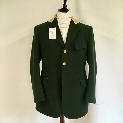 Green Hunt Coat 42""