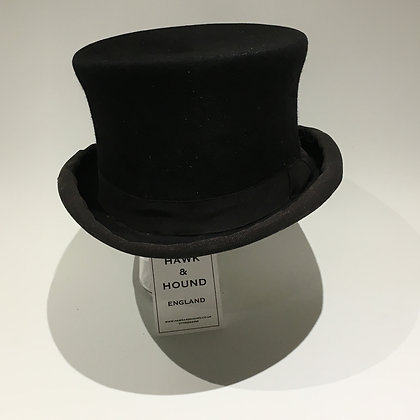 6 7/8 56cm Patey dressage top hat