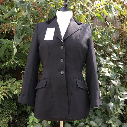 """Ladies Black Caldene Show Coat 34/36"""""""