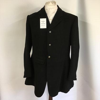 """Gent's Frank Hall Black Hunt Coat 44"""""""