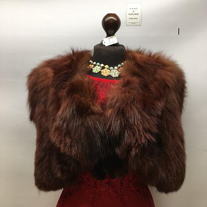 Vintage Fox cape