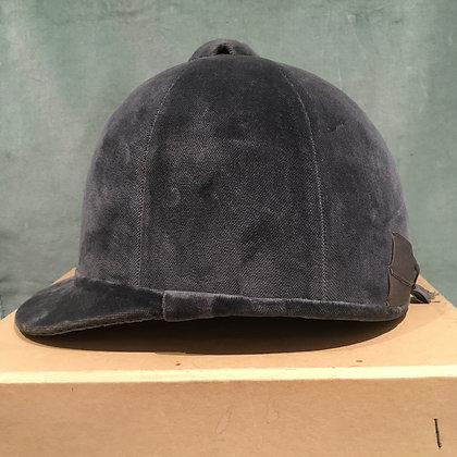 Grey Patey hunt cap 6 3/4 55cm