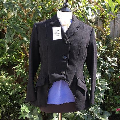 """Ladies Vintage Bespoke Cutaway Hunt/ Side Saddle Coat 38"""""""