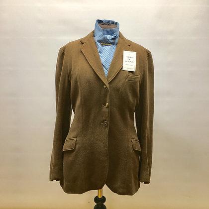 "38"" Vintage Bedford Riding Co brown cubbing coat"