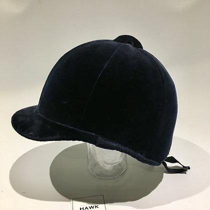6 7/8 56cm Navy Patey Hunt Cap