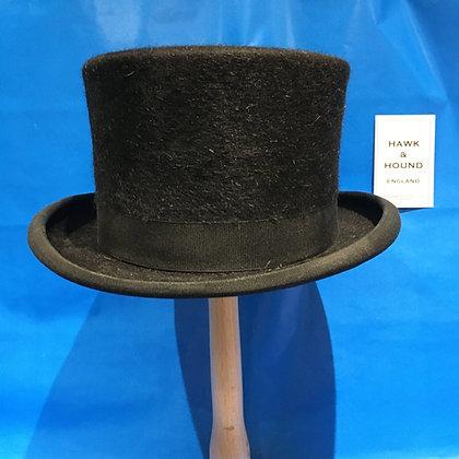 6 1/2  (53cm) Fur felt Christy's dressage top hat