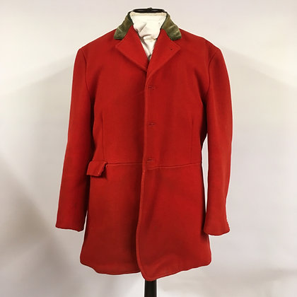 """Mears red 3 button hunt coat 44"""""""