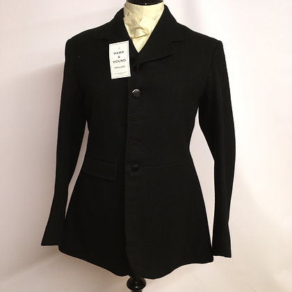 Gentleman's 5 button Black Hunt Coat 36""