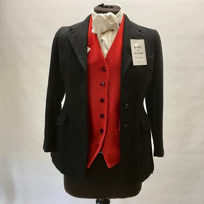"""32"""" Vintage ladies black coat"""