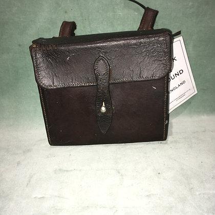 Vintage leather sandwich case