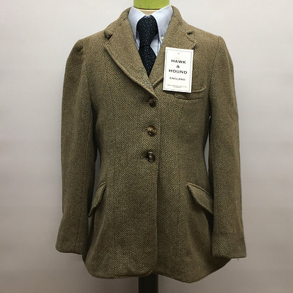 "28"" Child's vintage tweed coat"